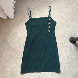 Kendall & Kylie shift dress with buttons